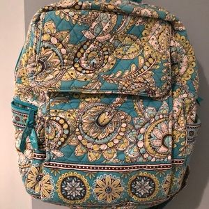Vera Bradley Backpack in Peacock pattern